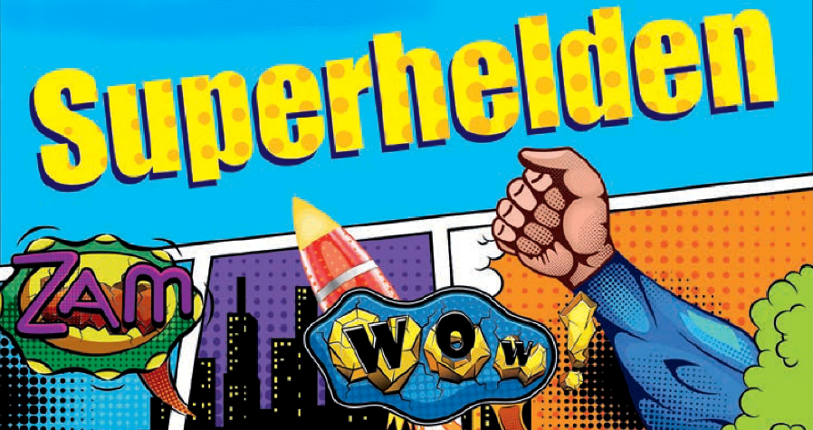 Superhelden Turmverteidigung